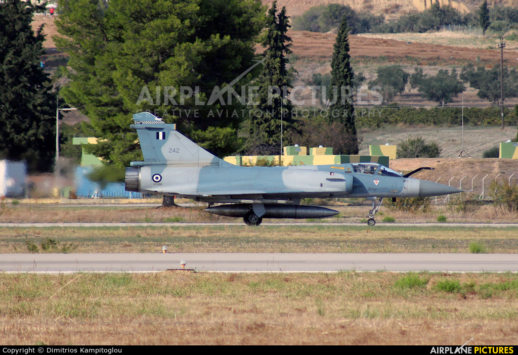 Greece - Hellenic Air Force 242 aircraft at Tanagra