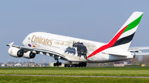 A6-EER - Emirates Airlines Airbus A380 aircraft