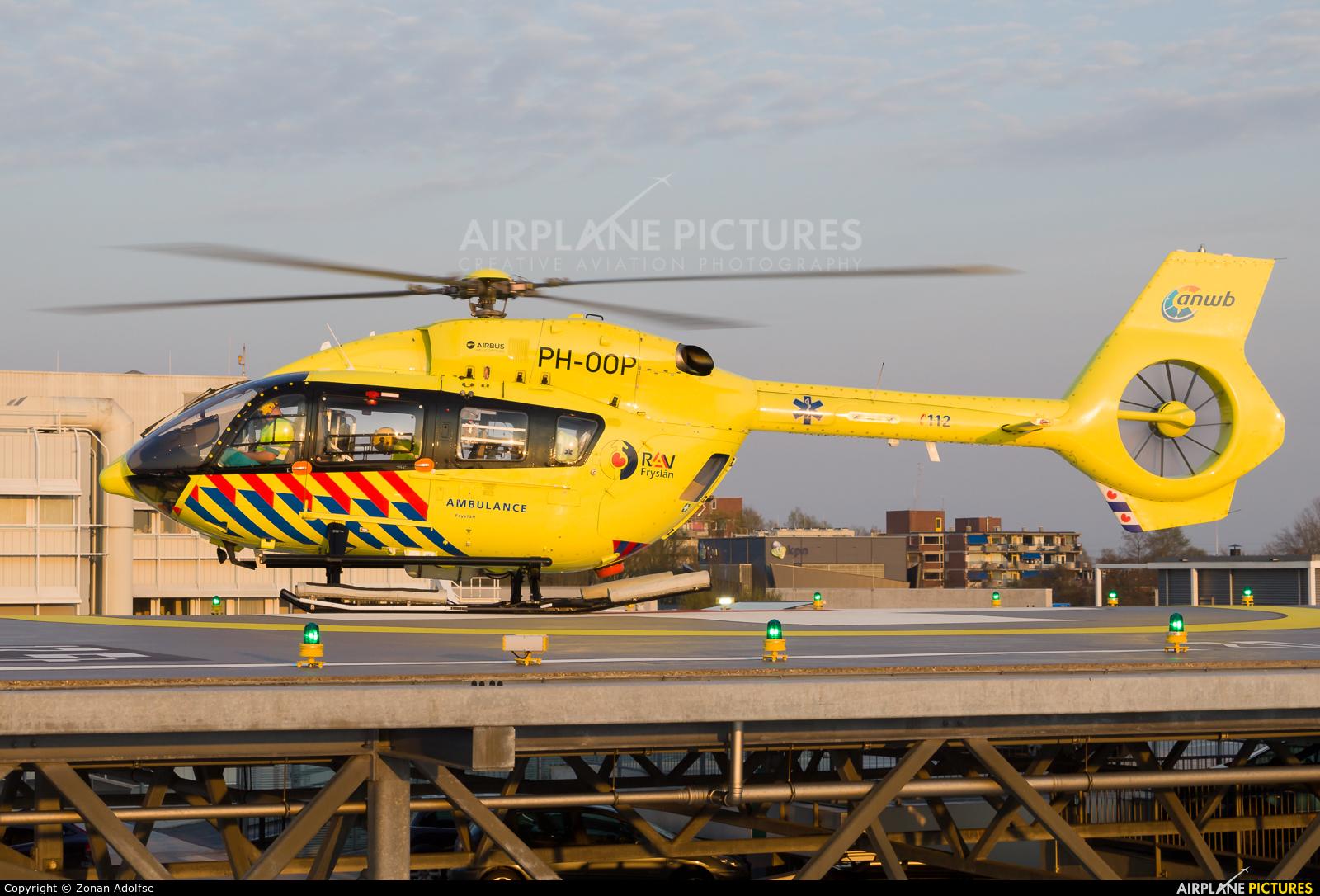 ANWB Medical Air Assistance PH-OOP aircraft at Leeuwarden