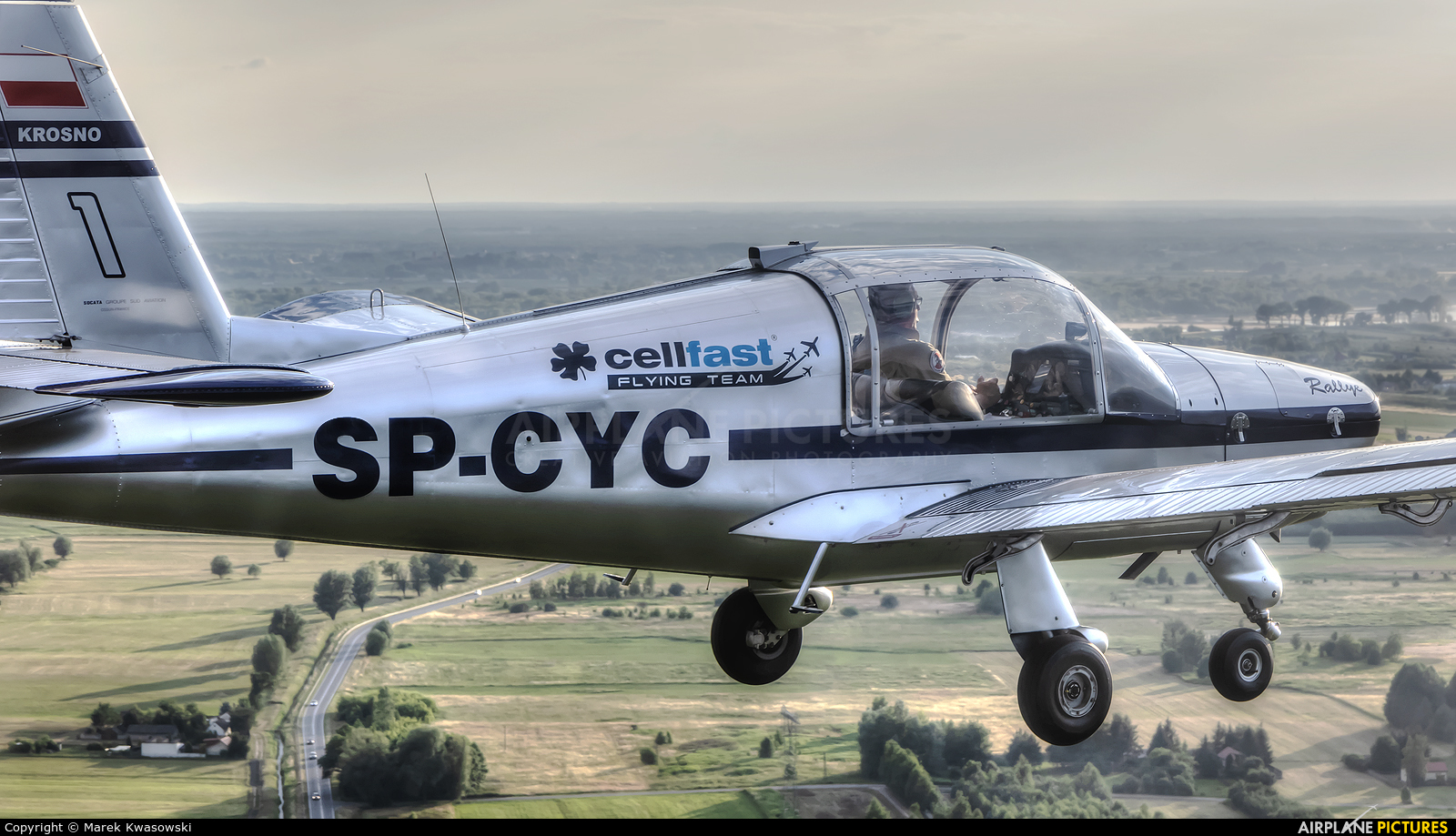 Private SP-CYC aircraft at In Flight - Poland
