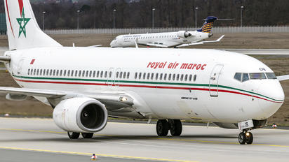 CN-ROB - Royal Air Maroc Boeing 737-800