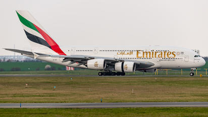 A6-EDF - Emirates Airlines Airbus A380
