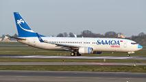 Rare visit of Samoa B738 to Copenhagen title=
