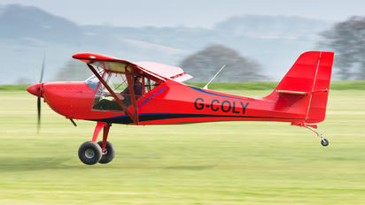 G-COLY - Private Aeropro Eurofox 912