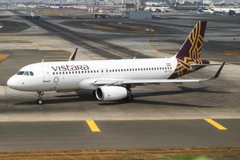 VT-TTJ - Vistara Airbus A320