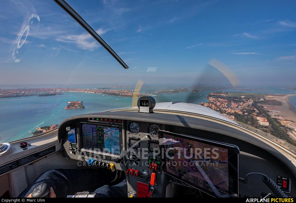 Private D-MSVS aircraft at Venice - Lido di Venezia