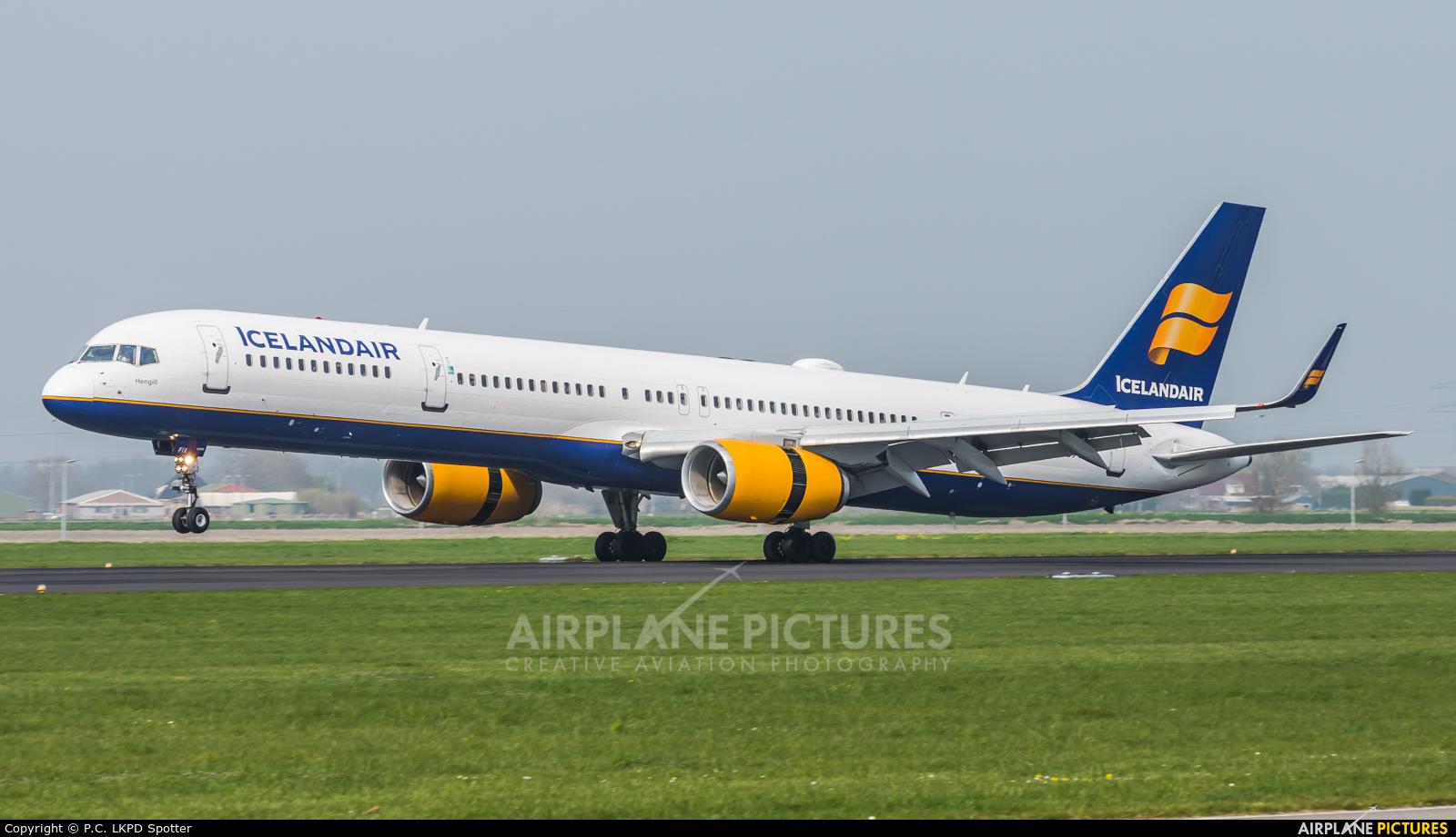 Icelandair TF-FIX aircraft at Amsterdam - Schiphol
