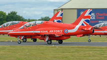 "XX204 - Royal Air Force ""Red Arrows"" British Aerospace Hawk T.1/ 1A aircraft"