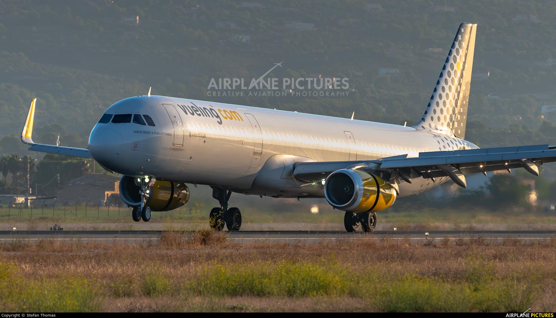 Vueling Airlines EC-MHA aircraft at Palma de Mallorca
