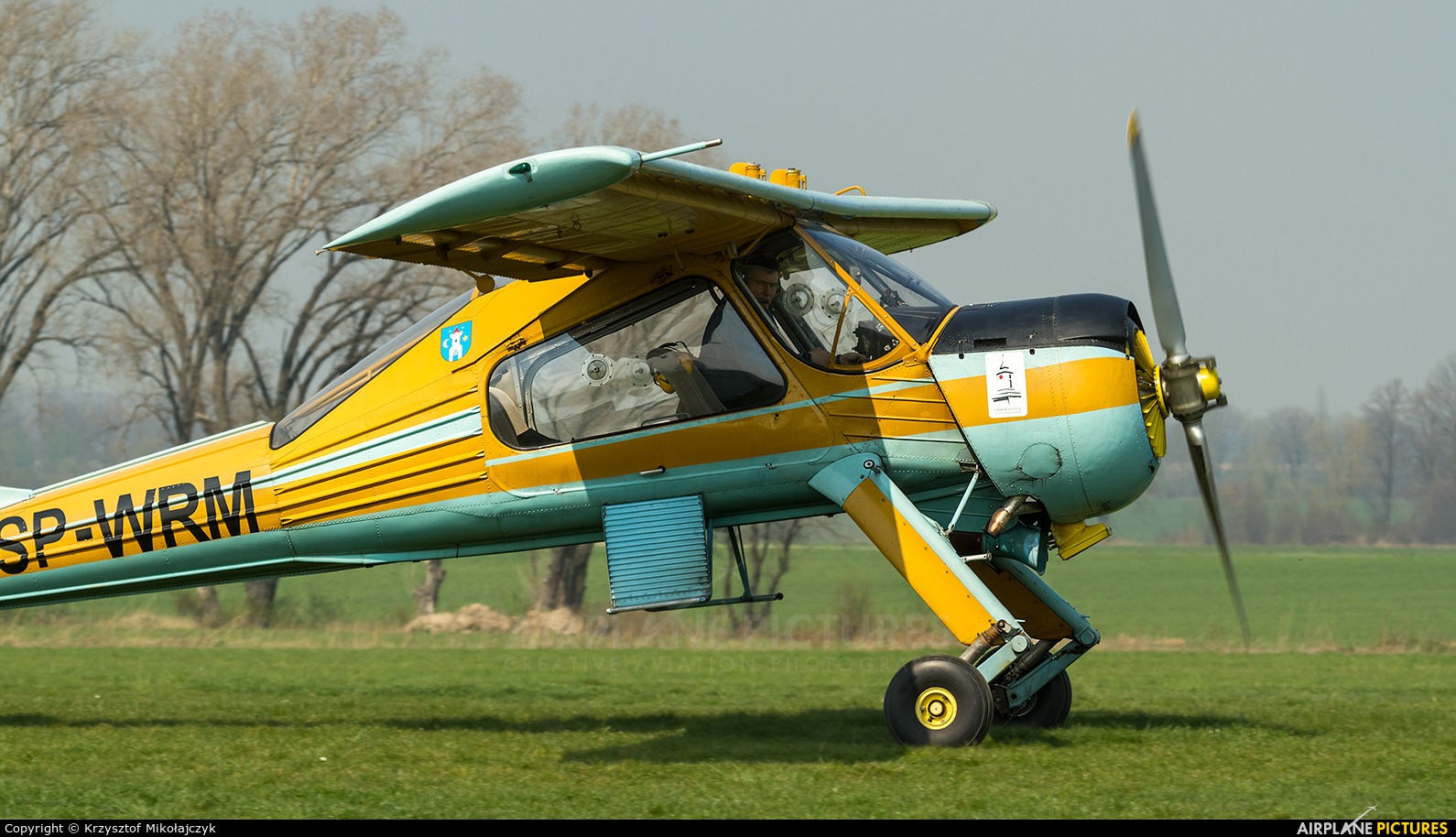 Private SP-WRM aircraft at Świebodzice
