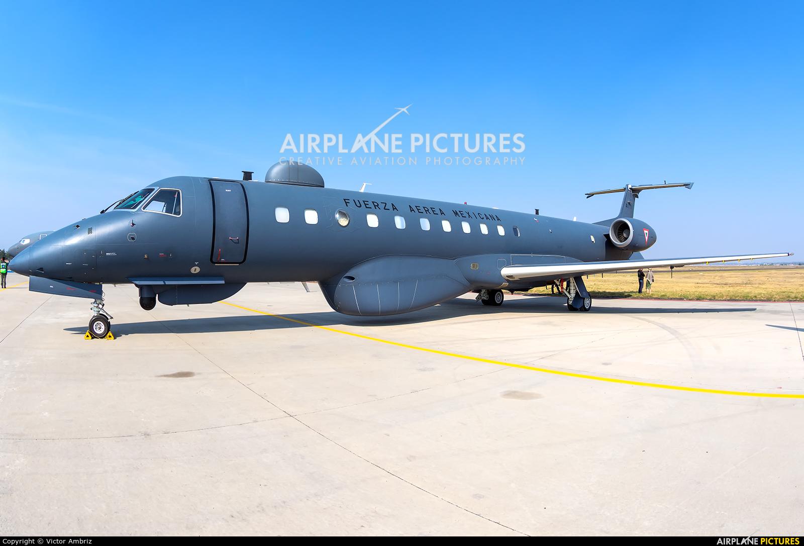 Mexico - Air Force 4111 aircraft at Santa Lucia AB