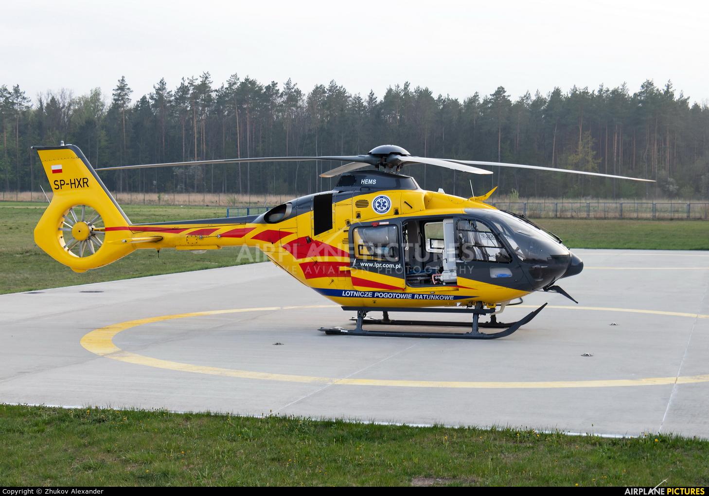 Polish Medical Air Rescue - Lotnicze Pogotowie Ratunkowe SP-HXR aircraft at Białystok - Krywlany