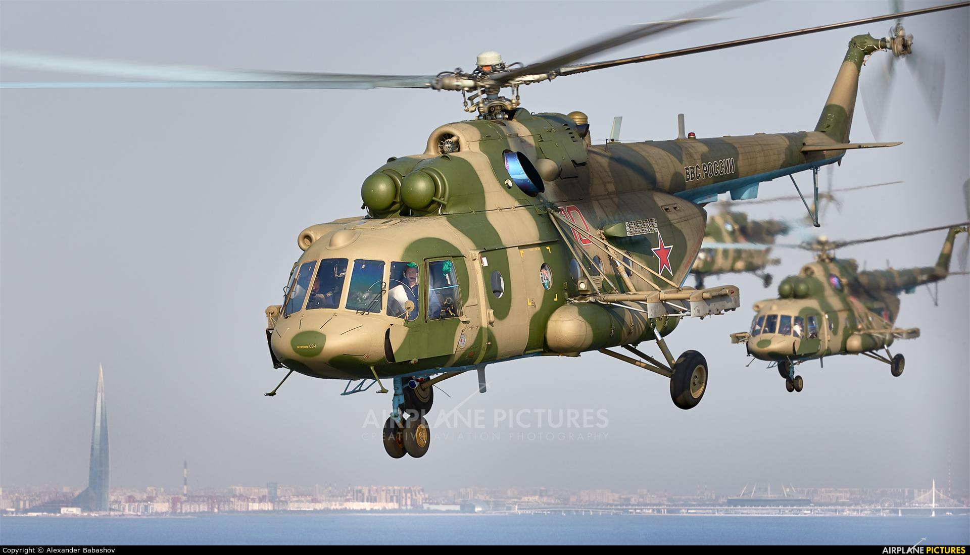 Russia - Air Force 10 aircraft at Saint-Petersburg