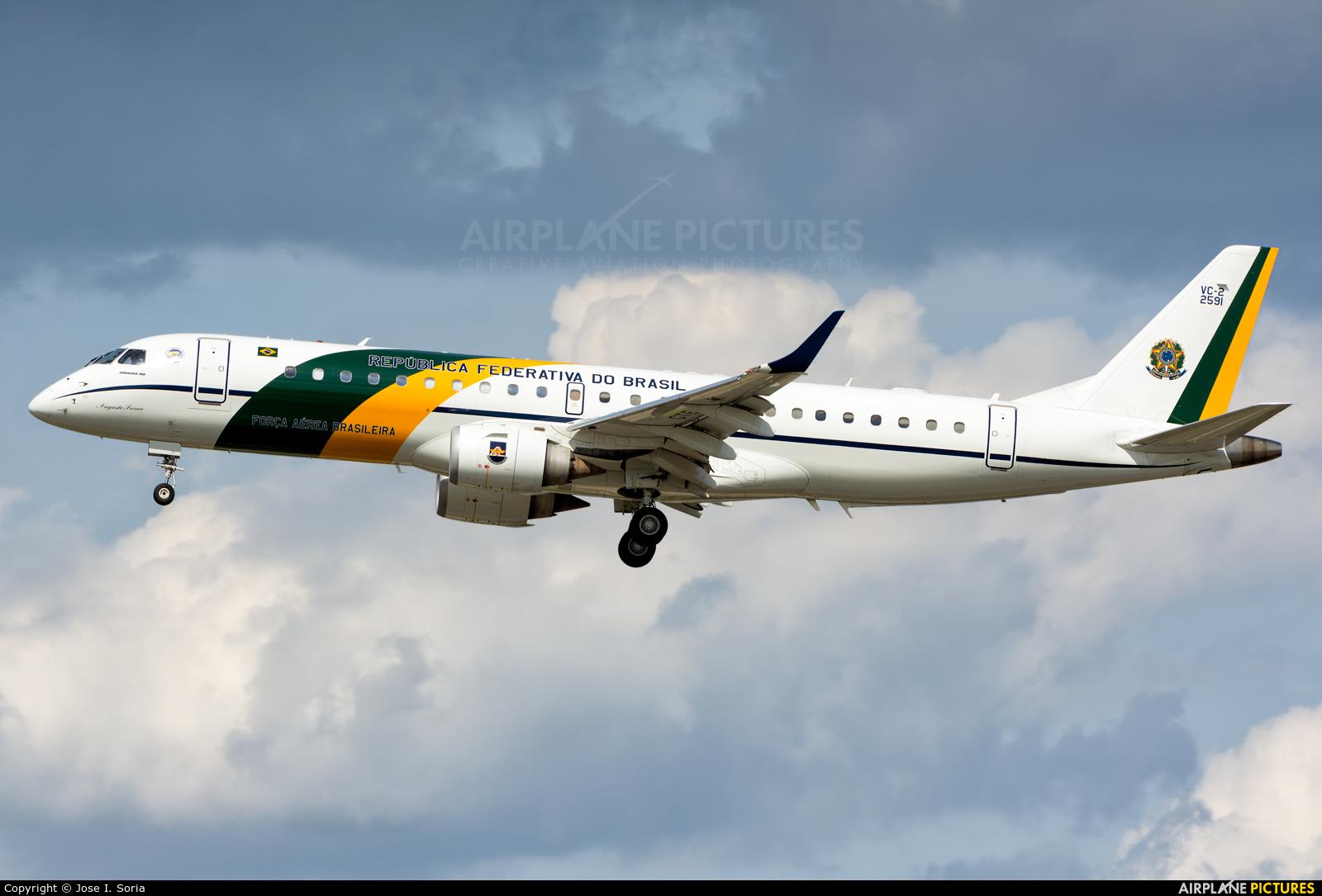 Brazil - Air Force FAB2591 aircraft at Madrid - Barajas