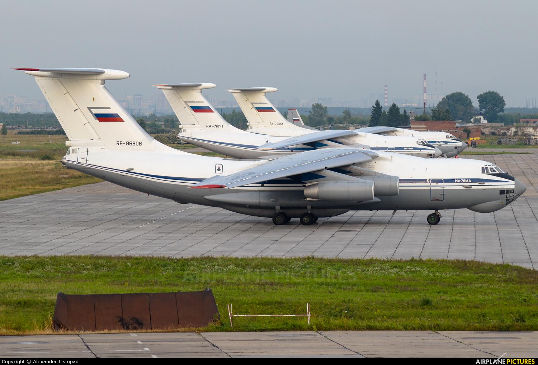 Russia - Air Force RF-86908 aircraft at Novosibirsk