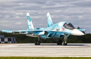 RF-93822 - Russia - Air Force Sukhoi Su-34