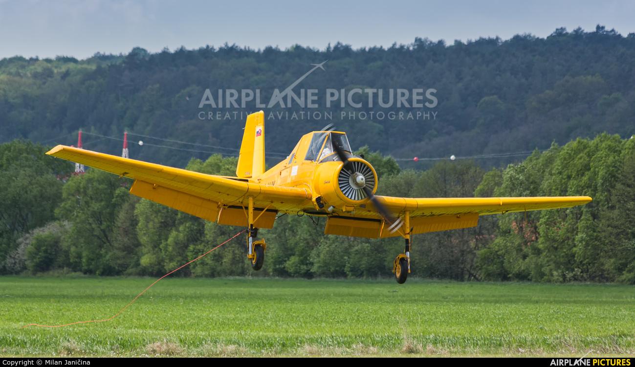 Aero Slovakia OM-HJX aircraft at Prievidza