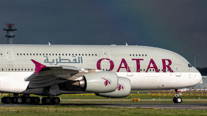 A7-APE - Qatar Airways Airbus A380