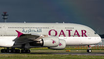 A7-APE - Qatar Airways Airbus A380 aircraft