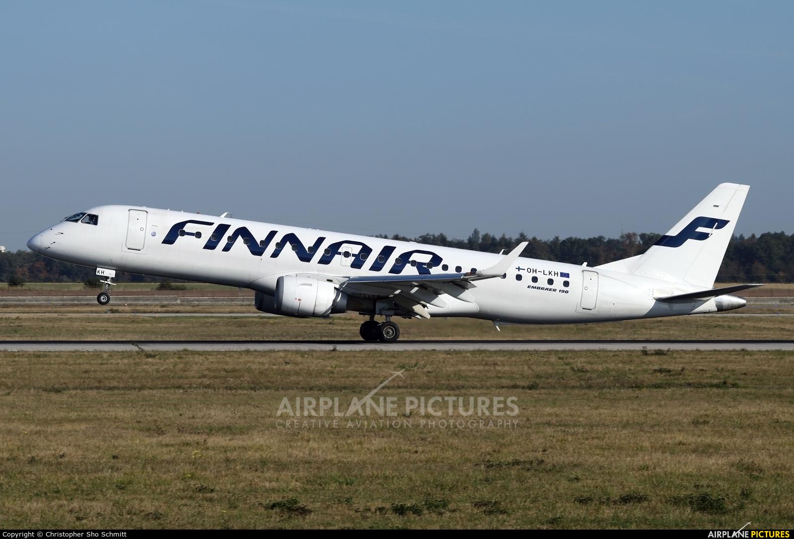 Finnair OH-LKH aircraft at Stuttgart