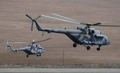 55 - Russia - Air Force Mil Mi-8AMTSh-1