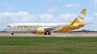 LV-HQY - Flybondi Boeing 737-800