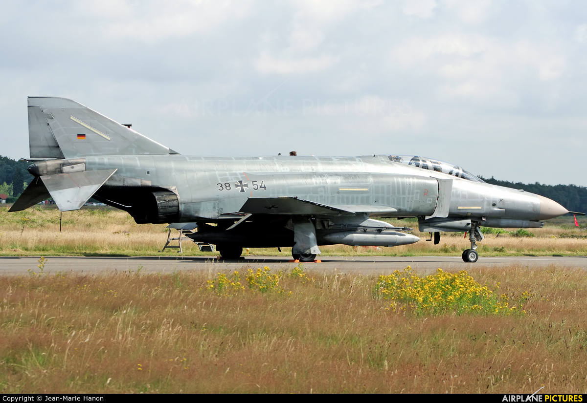 Germany - Air Force 38+54 aircraft at Kleine Brogel