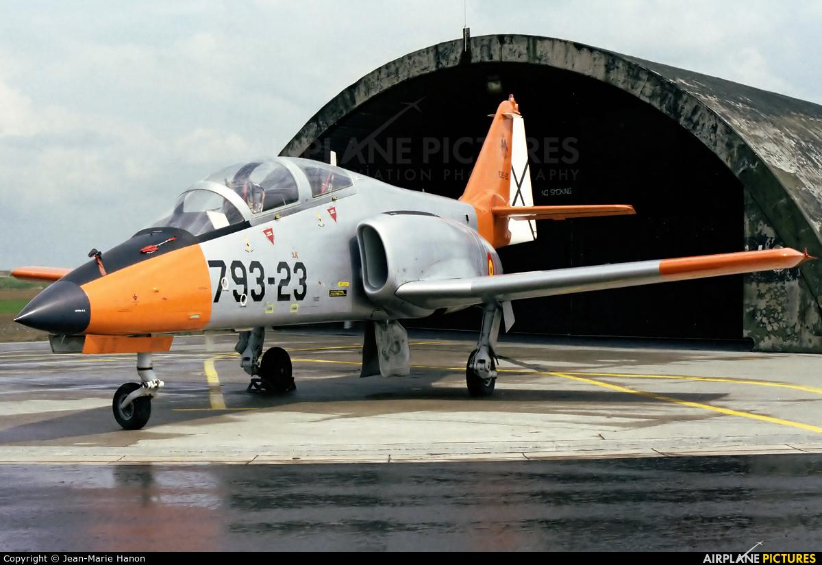 Spain - Air Force E.25-23 aircraft at Liège-Bierset