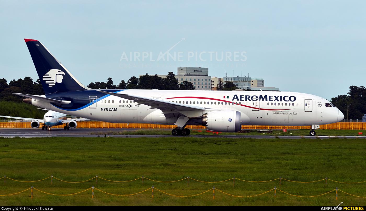 Aeromexico N782AM aircraft at Tokyo - Narita Intl