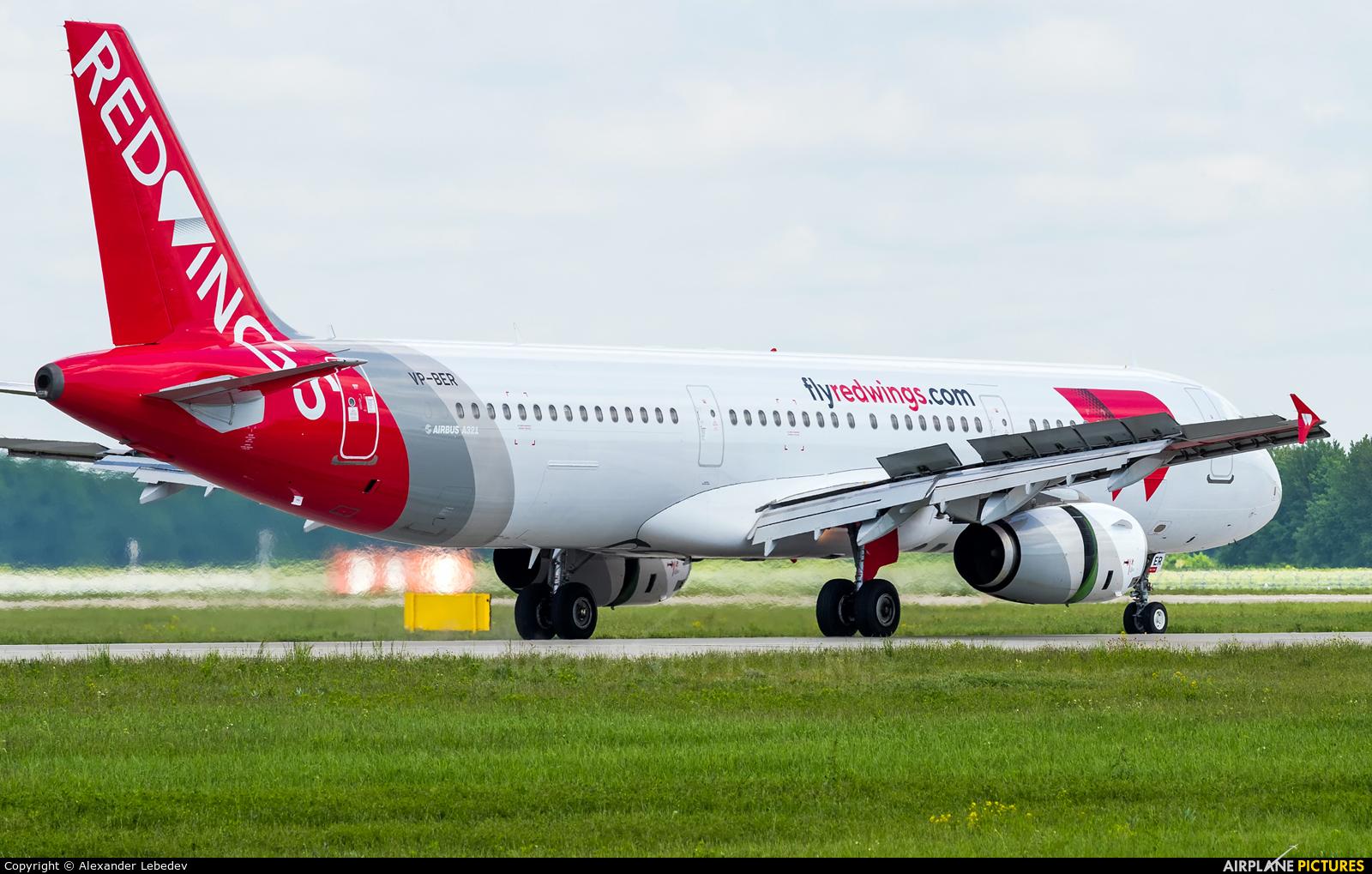 Red Wings VP-BER aircraft at Krasnodar