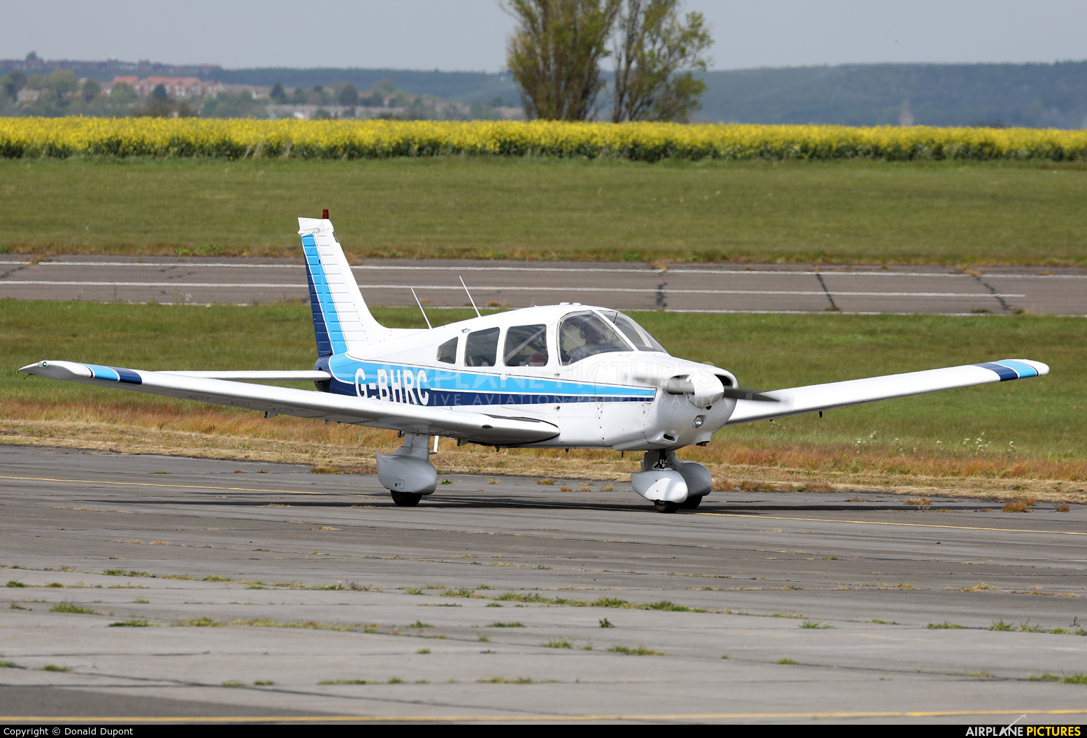 Private G-BHRC aircraft at Tollerton