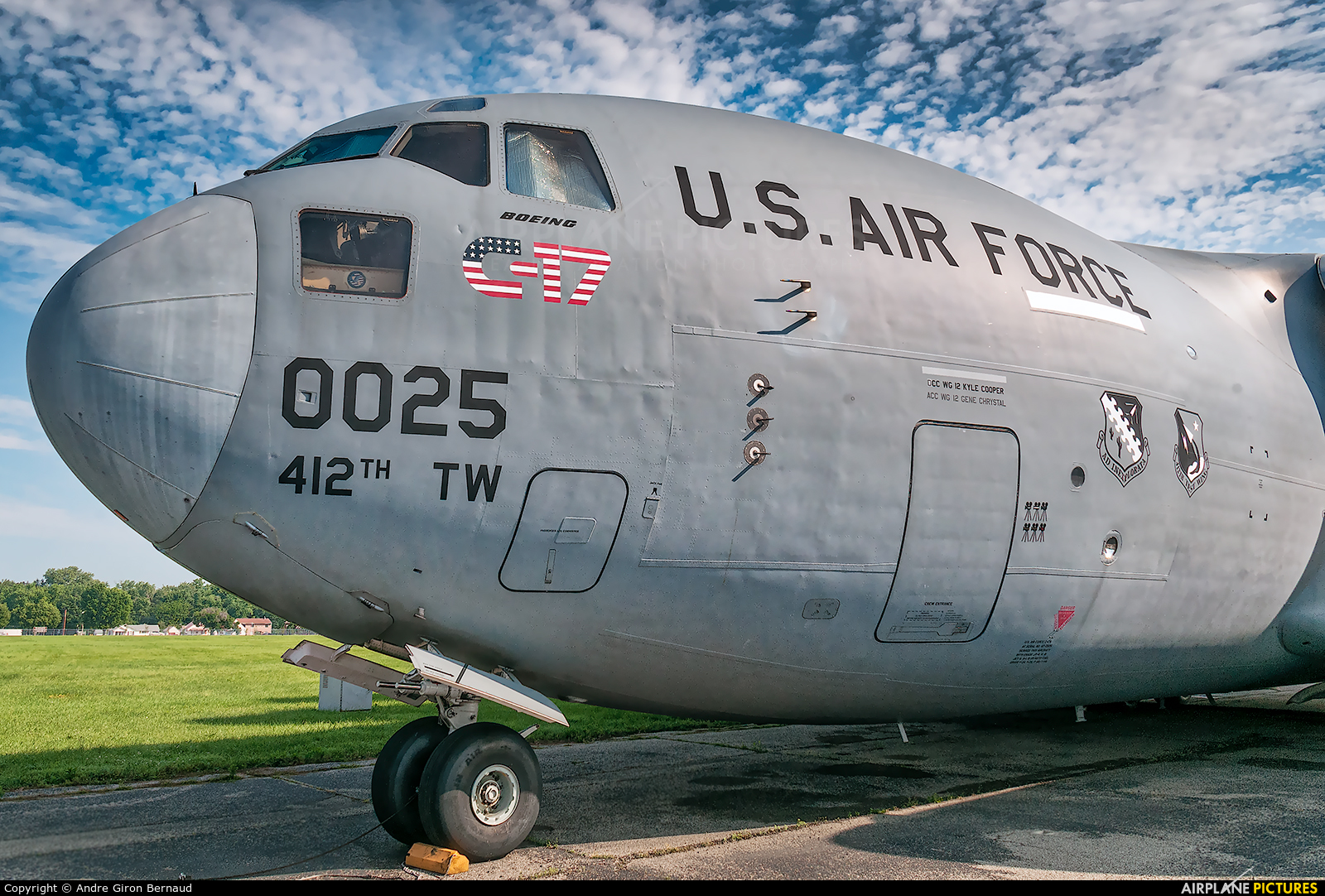 USA - Air Force 87-0025 aircraft at Wright-Patterson Air Force Base