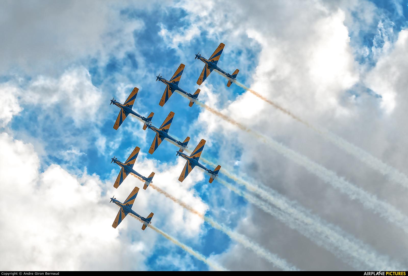 """Brazil - Air Force """"Esquadrilha da Fumaça"""" - aircraft at Porto Alegre - Salgado Filho"""