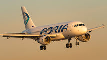 S5-AAX - Adria Airways Airbus A319 aircraft