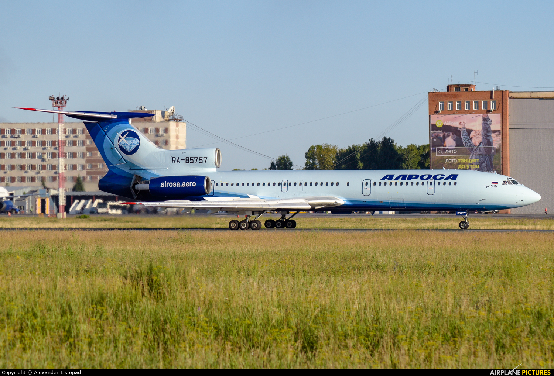 Alrosa RA-85757 aircraft at Novosibirsk