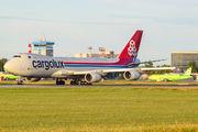 LX-VCG - Cargolux Boeing 747-8F aircraft