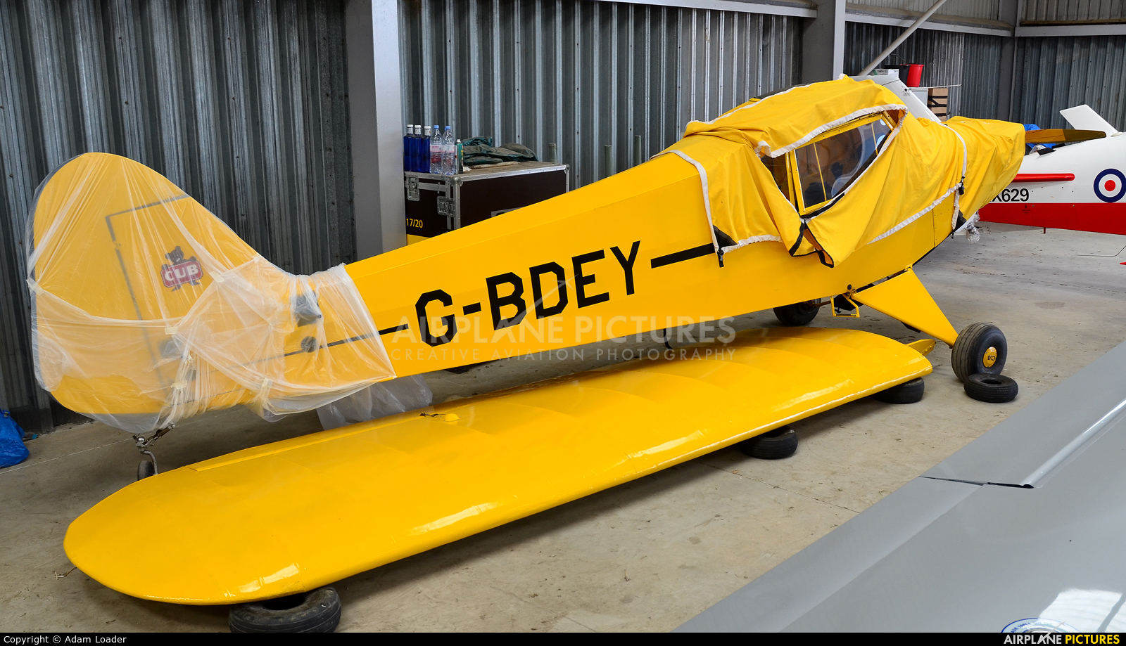 Private G-BDEY aircraft at Turweston