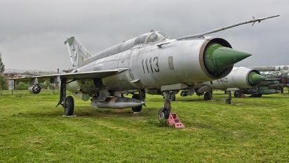 1113 - Slovakia -  Air Force Mikoyan-Gurevich MiG-21M