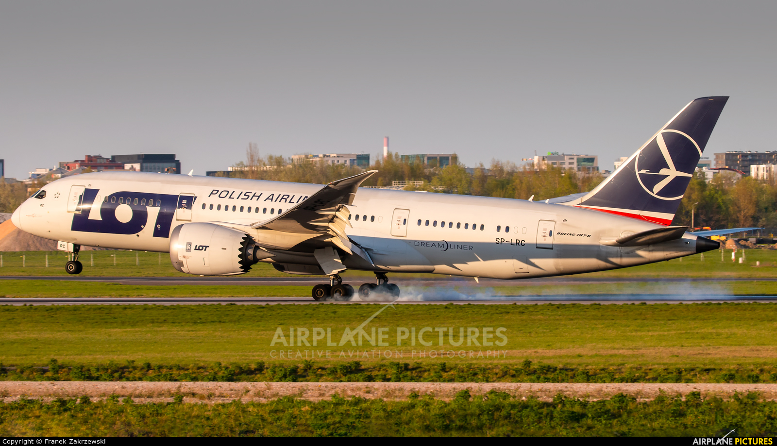 LOT - Polish Airlines SP-LRC aircraft at Warsaw - Frederic Chopin