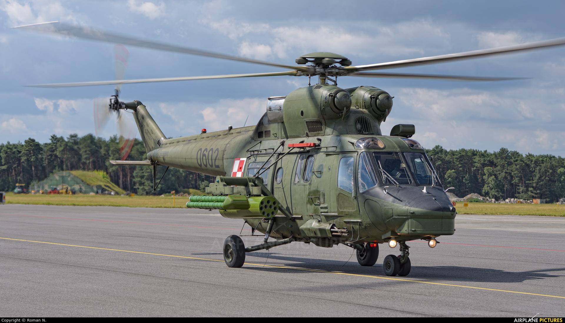 Poland - Air Force 0602 aircraft at Bydgoszcz - Szwederowo