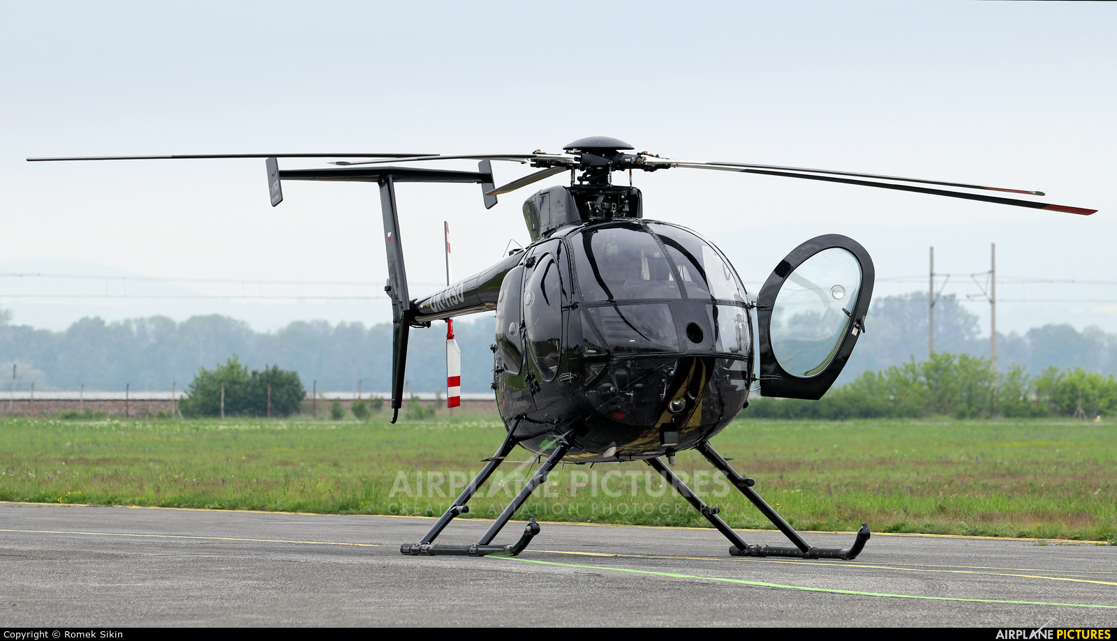 Heli Czech OK-HSO aircraft at Piestany