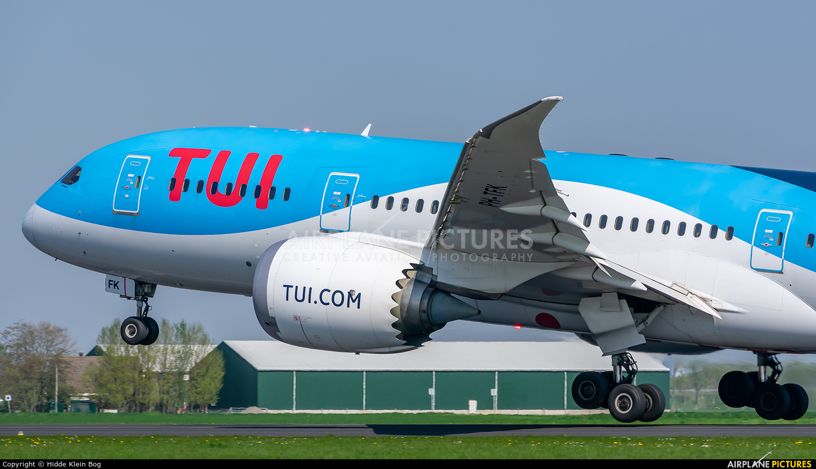 TUI Airlines Netherlands PH-TFK aircraft at Amsterdam - Schiphol