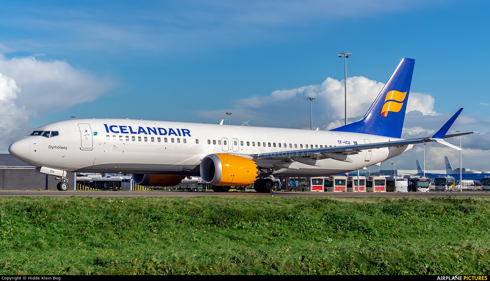 Icelandair TF-ICU aircraft at Amsterdam - Schiphol