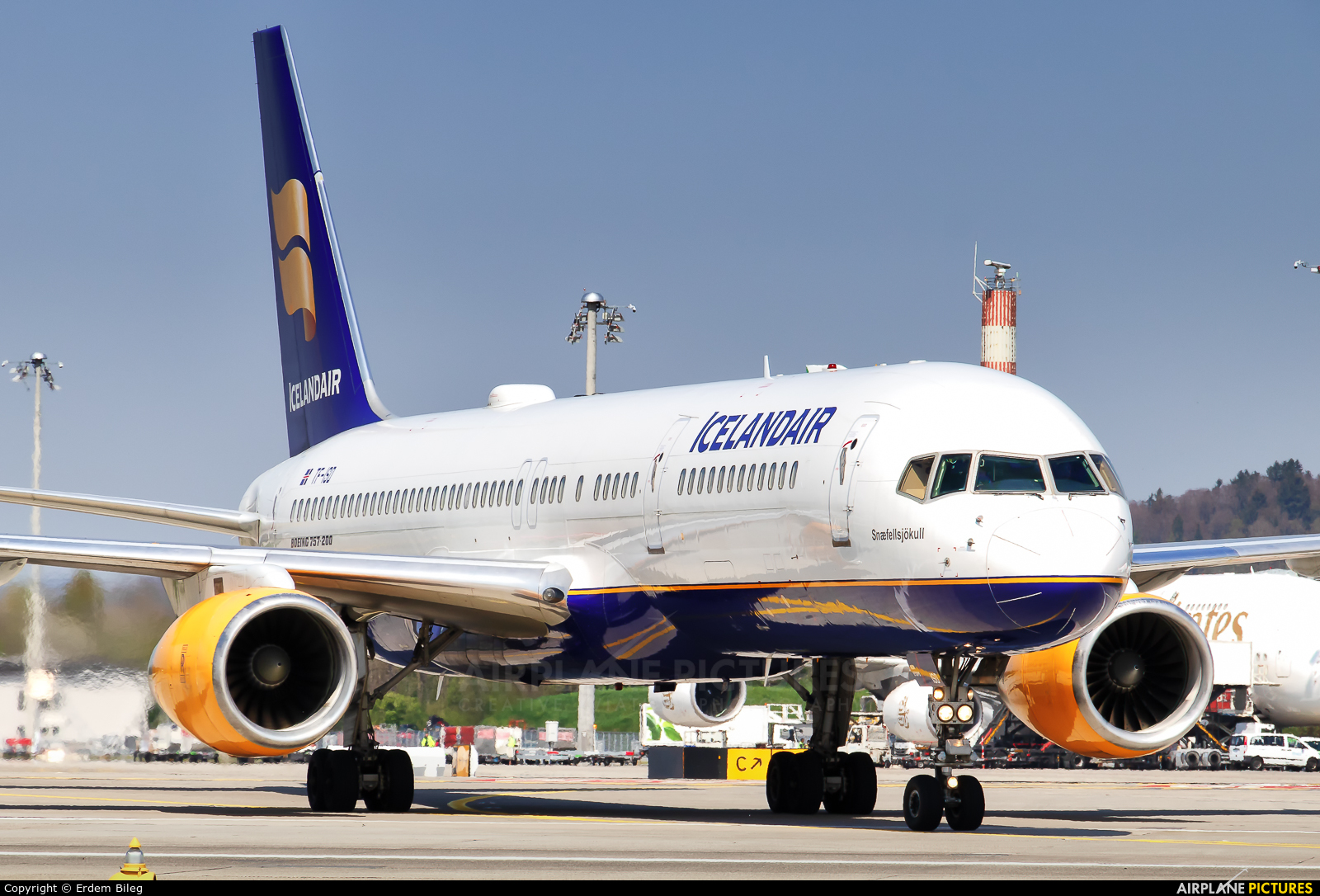 Icelandair TF-ISD aircraft at Zurich