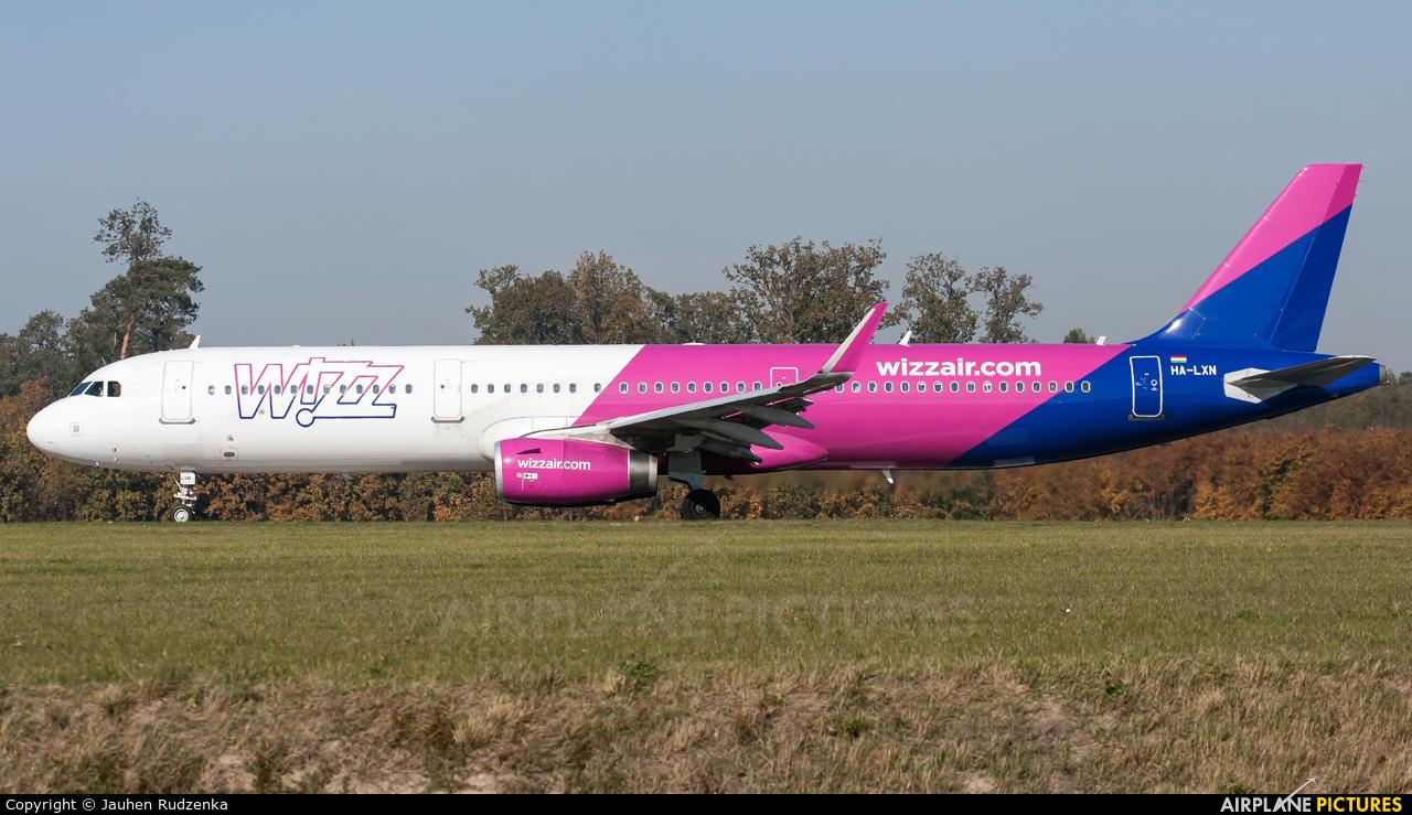 Wizz Air HA-LXN aircraft at Lublin