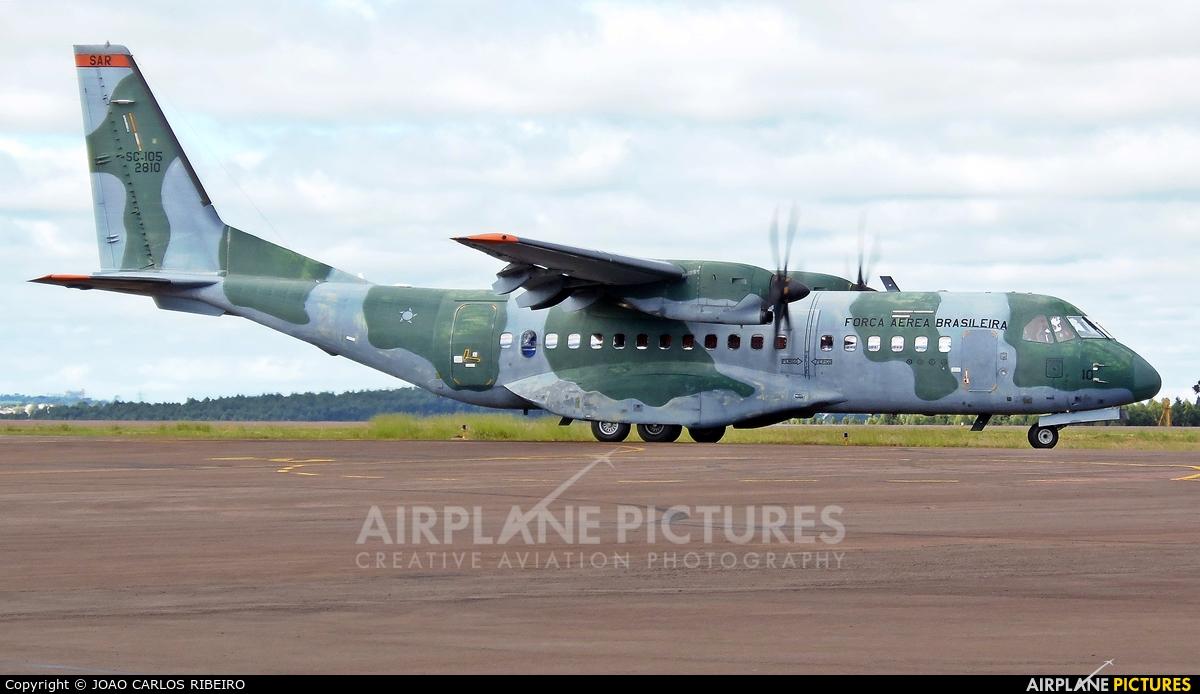 Brazil - Air Force FAB2810 aircraft at Municipal Airport Cascavel