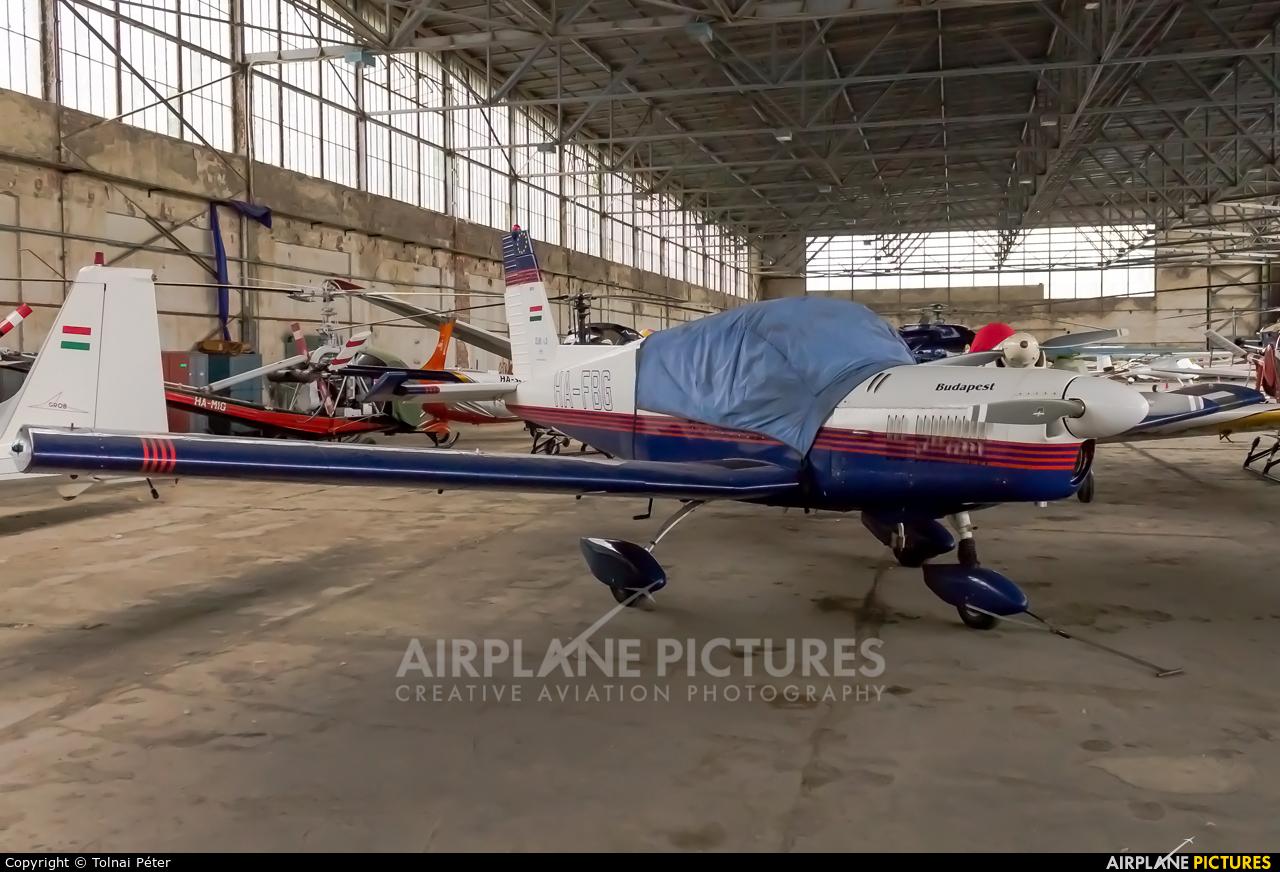 Private HA-FBG aircraft at Budaors