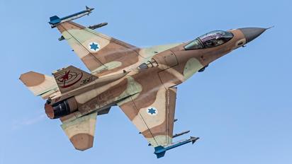 356 - Israel - Defence Force General Dynamics F-16C Barak
