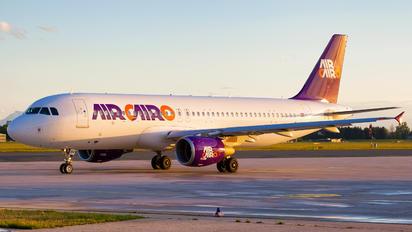 SU-BPV - Air Cairo Airbus A320