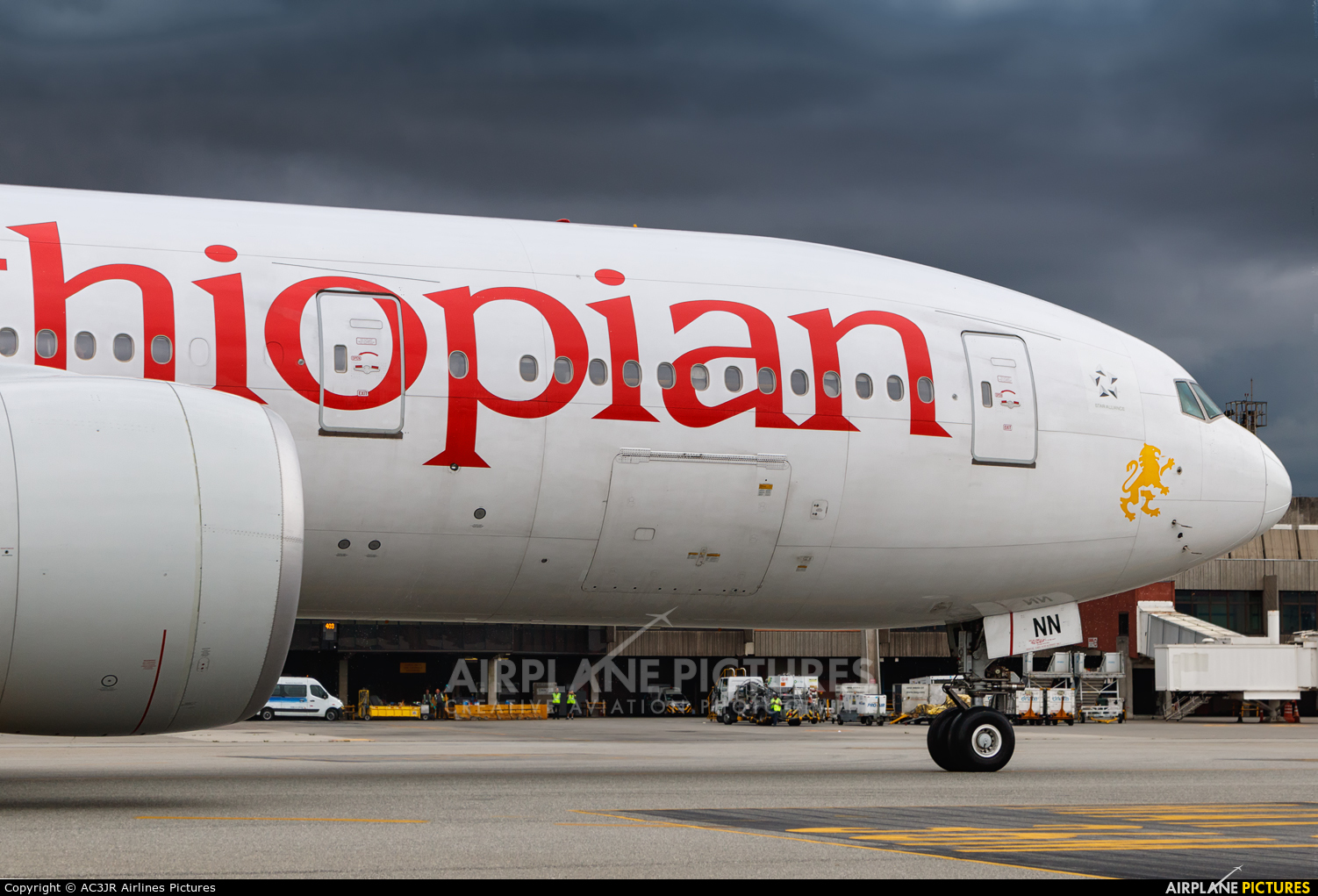 Ethiopian Airlines ET-ANN aircraft at São Paulo - Guarulhos